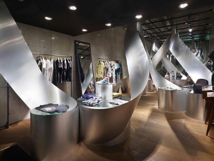 商业空间设计-创意服装店si设计-店铺设计